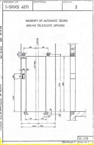 حداقل مساحت کابین آسانسور - شیندلر, schindler