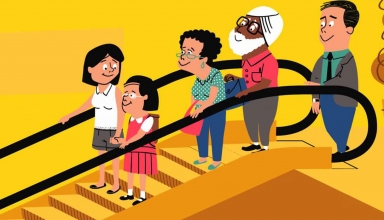 نتیجه تصویری برای پله برقی کارتونی