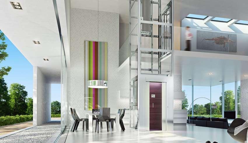 ویژگیهای آسانسورهای خانگی -