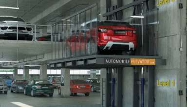 آسانسور خودرو بر - قطعات آسانسور, سرعت حرکت آسانسور, آسانسور خودروبر