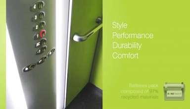 طراحی اوتیس GEN2 ™، افتخار جایزه طراحی خوب - نمایشگاه بین المللی آسانسور, طراحی آسانسور, صنعت آسانسور