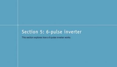 تبدیل برق DC به سه فاز با ۶ پالس (اینورتر) – قسمت ششم -
