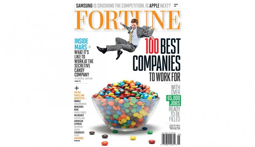 لیست 100 شرکت برتری که هر کسی آرزوی کار کردن در آن را دارد -