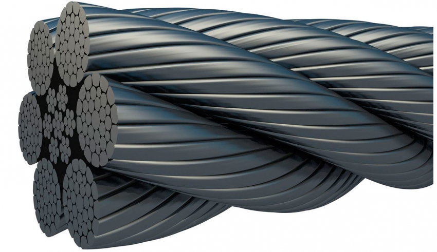 طناب فولادی (سیم بکسل) - طناب فولادی, سیم بکسل آسانسور