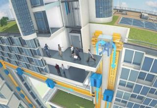 سیستم جدید مولتی آسانسور تیسن کروپ