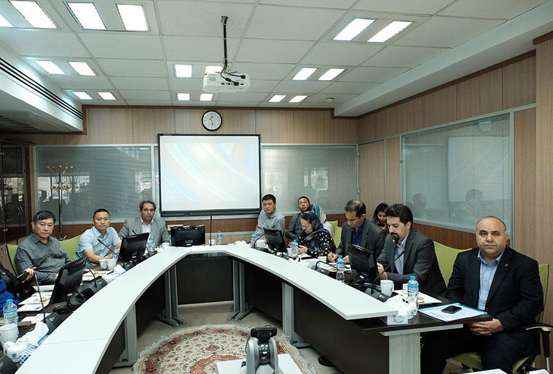 اتاق تهران بازرگانی ایران و چین آسانسور