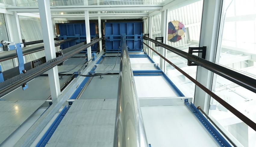 سینی زیر کابین آسانسور - کواهی ایمنی آسانسور, ایمنی آسانسور, آسانسور استاندارد